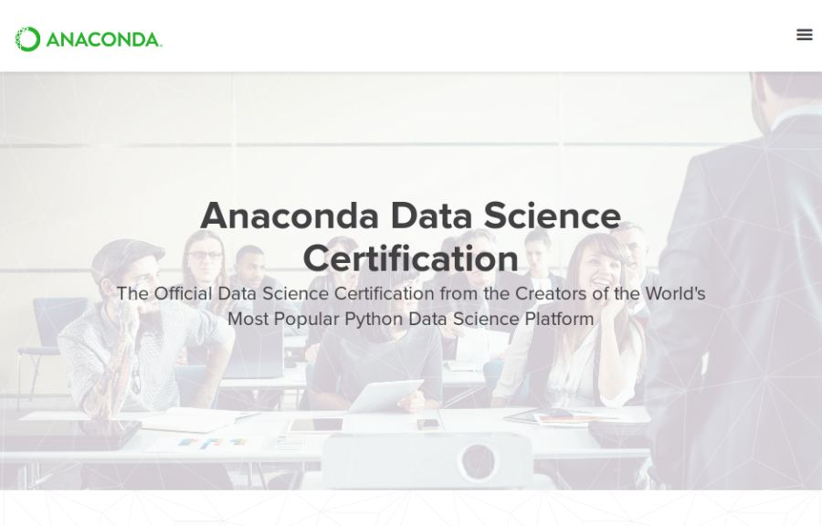 Anaconda-Data-Science-Certification