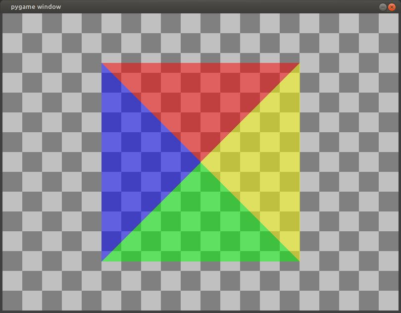 python pygame - set_colorkey remove background and set_alpha to make semi transparent